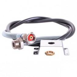 Držák redukčního ventilu MM s maticí + tlak.hadice G3/4