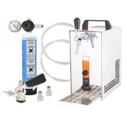 PYGMY 20 s red. ventilem CO2 mini a naražečem BAJONET (bez kompresoru)